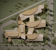Dickenson College: photo of model from above