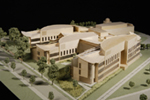 Dickenson College: photo of model street side