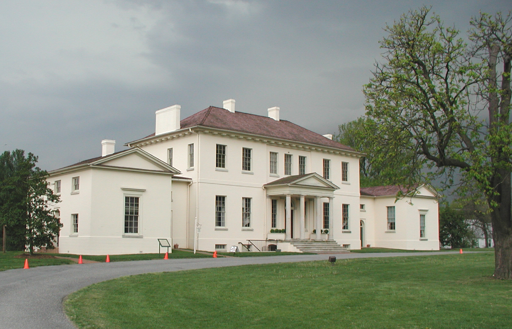 Riversdale: photo of original mansion